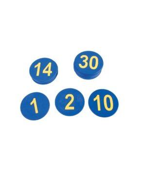 Sammumarkerid numbritega 1-30