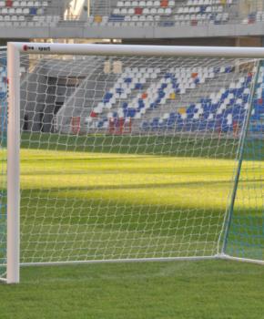 Jalgpalliväravad 3x2m alumiinium fikseeritud