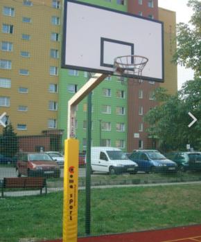 Korvpallikonstruktsioon, laud 180x105cm