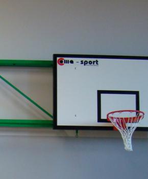 Korvpallikonstruktsioon klapitav, erinevad projektsioonid
