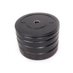 black-rubber-bumper-plate